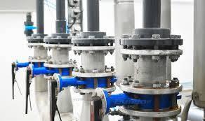 ipari vízszerelés gépi földmunkával