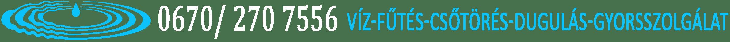 Vízszerelés, Csőtörés - Duguláselhárítás, Fűtésszerelés Gyorsszolgálat Budapest